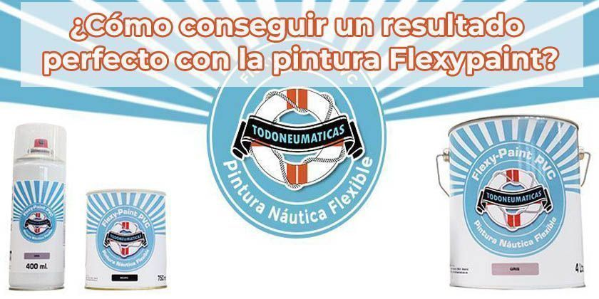 "Pintura flexible para PVC, toldos, lonas y tejido ""FLEXY PAINT"""